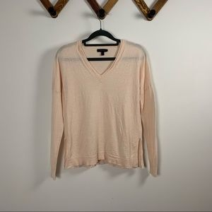 JCREW wool v neck sweater